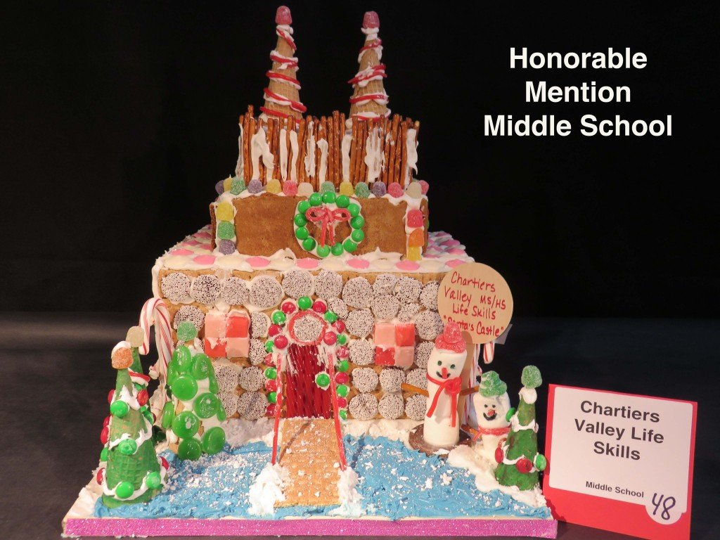 gingerbread house display amp competition ppg place